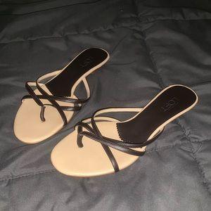 Like New Loft Sandals